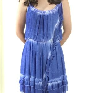 Rich blue ombre sundress from free people sz S-M